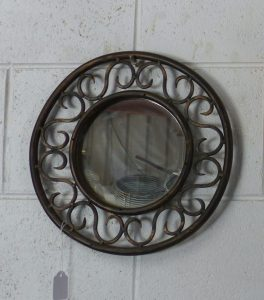 Steampunk Wall Mirror 1